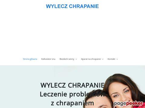 Więcej o stronie : Chrapanie - wylecz-chrapanie.pl