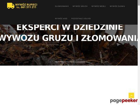 Wywózrupieci.pl - wywóz gruzu Warszawa