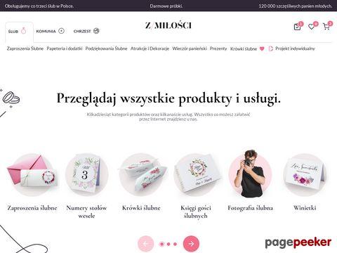 Więcej o stronie : Zaproszenia Ślubne Kraków