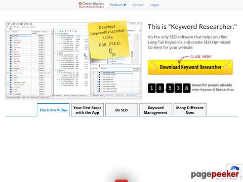 Key Phrase Researcher: Long-Tail Keywords Generator & SEO Or...