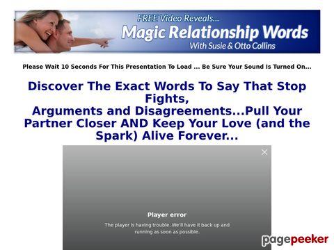 magicrelationshipwords Magic Relationship Words