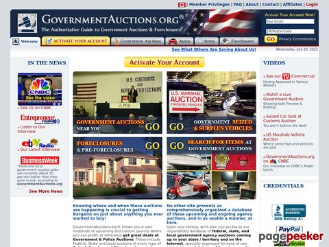 GovernmentAuctions.org ®-- Government Auctions & Bank Forec...