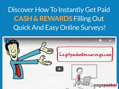 LegitPaidOnlineSurveys - Getting Paid for Online Surveys!