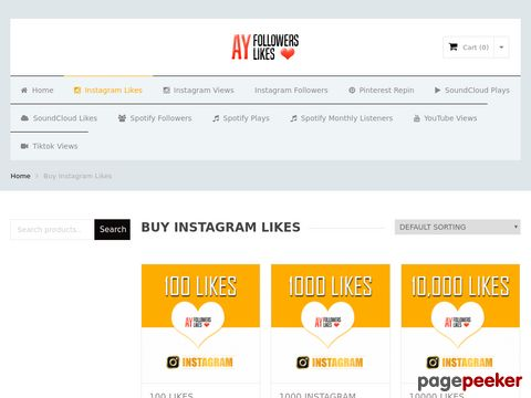 Buy instagram likes | AyFollowersLikes