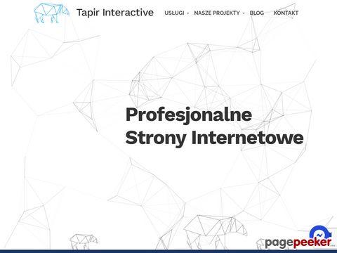 Tapir Interactive - Strony Internetowe we Wrocławiu