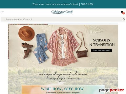 Coldwater Creek Coupons & Promo Code