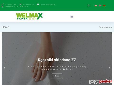 Welmax - Producent ręczników papierowych