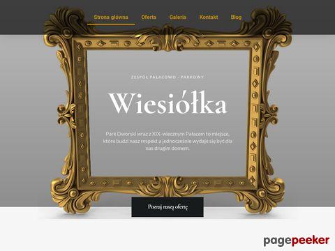 Wiesiółka - sala weselna, śluby plenerowe. Blisko Wałcza i Piły.
