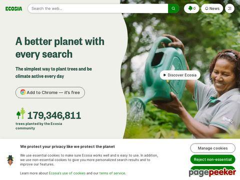 https://www.ecosia.org/