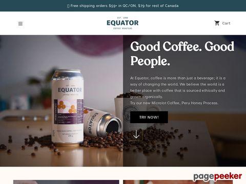 Fair trade coffee in Canada