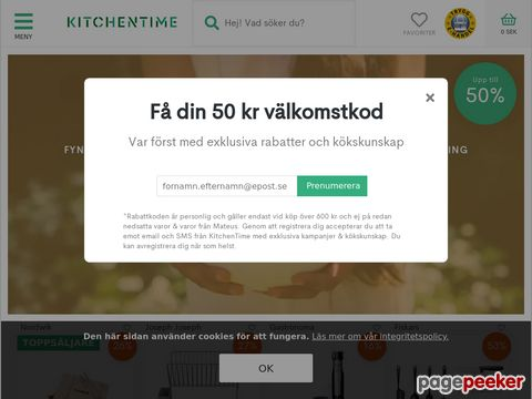 KitchenTime Rabattkoder