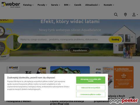 Weber. Producent materiałów budowlanych