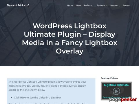 https://www.tipsandtricks-hq.com/wordpress-lightbox-ultimate-plugin-display-media-in-a-fancy-lightbox-overlay-3163?ap_id=scriptgiver website snapshot