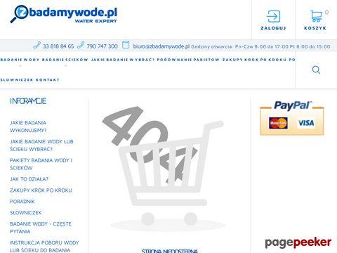 Hydrochemia - mikrobiologiczne badania