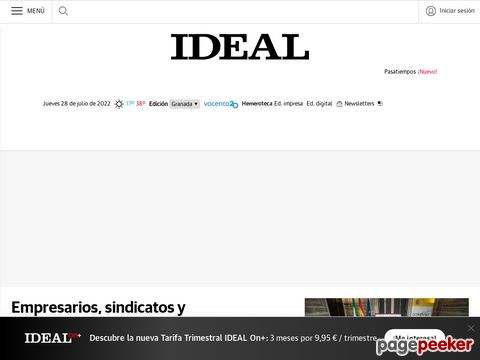 Captura de Pantalla de Ideal Almería