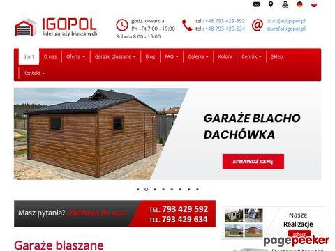 Jarząbski Paweł Igopol - Garaże Blaszane
