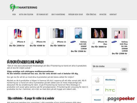 Sälj mobilen - it-hantering.se