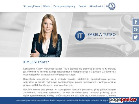 Izabela Tutro Kancelaria Radcy Prawnego