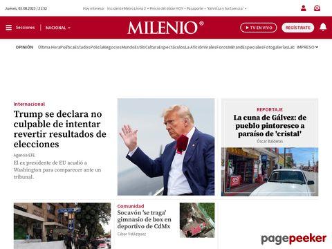 Captura de Pantalla de Milenio