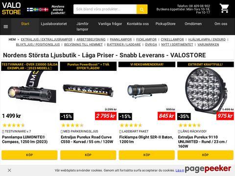 Nitecore » Officiell distributör i Sverige