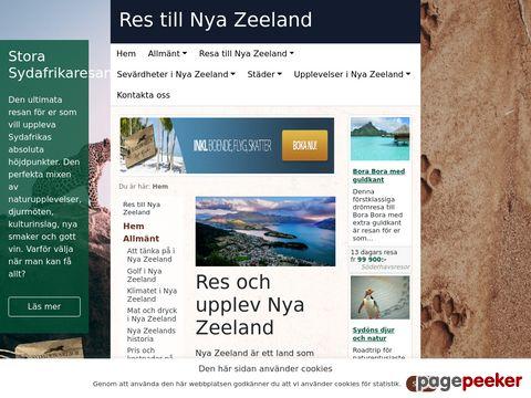Res och upplev Nya Zeeland - Nya Zeeland