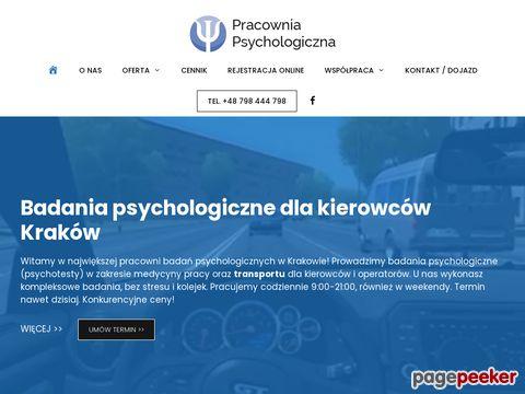 Psychotesty Kraków