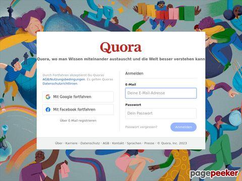 đánh giá trang web Quora.com
