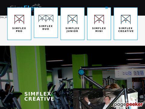 Sportowy symulator to nowoczesny przyrząd do ćwiczeń