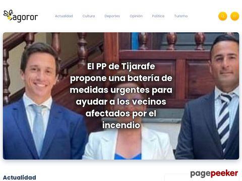 Captura de Pantalla de Tagoror Digital Canarias