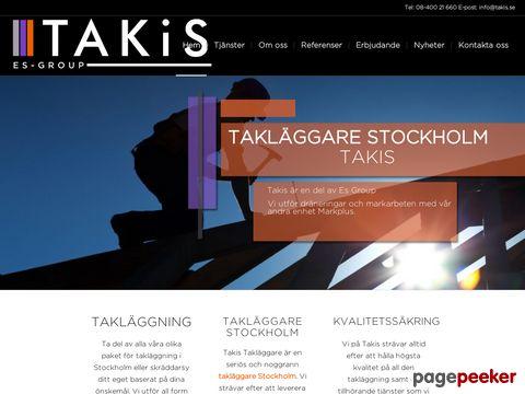 Takläggare Stockholm - Takis