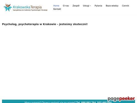 Psychoterapia Psycholog Kraków