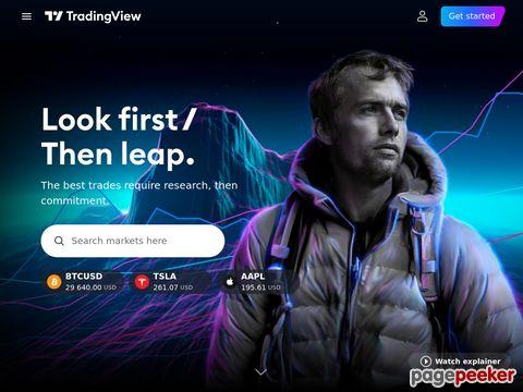 đánh giá trang web Tradingview.com