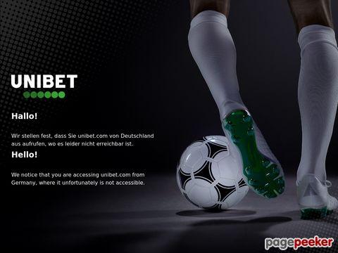 Unibet: Poker,  Bingo,  Odds,  Casino - Online Spel- hetaste oddse
