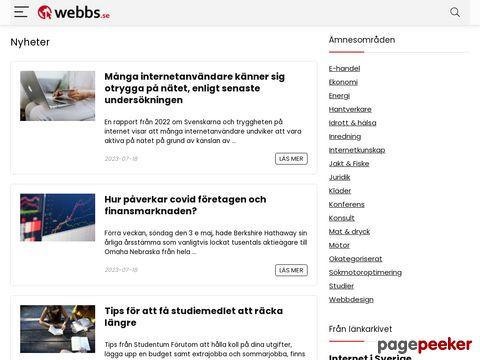 Webbarkivet - Nyheter & länkarkiv