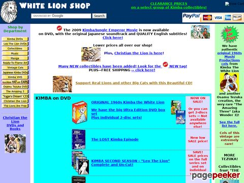 White Lion Restorations / White Lion Shop