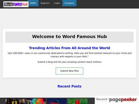 worldfamoushub.com