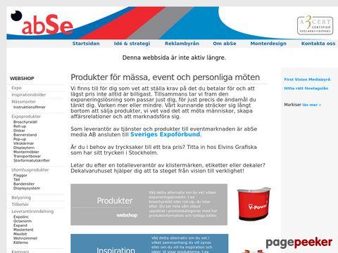 Reklambyrå monterdesign | abSe