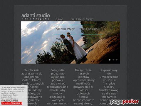 """TOMASZ KONIECZNY STUDIO VIDEO """"ADANTI"""""""