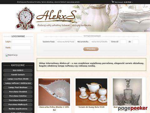 Alekxs.pl - Porcelana i serwisy obiadowe