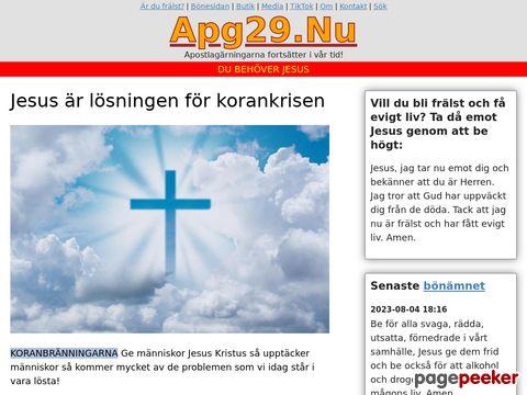 Apg29 - http://www.apg29.nu