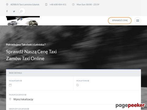 Aer Bus | Taxi Gdańsk | Transport Vipów