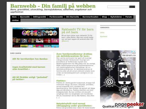 Barnwebb - Din familj på webben