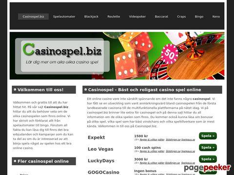 Casino Spel Online | Lär dig mer om alla olika casino spel