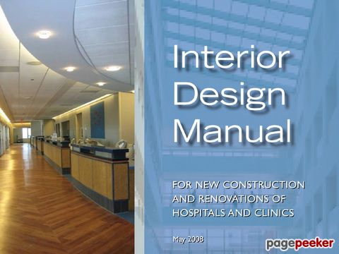 VA Interior Design Manual Office of Construction