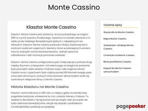 Posli Cmentarz Wojenny na Monte Cassino