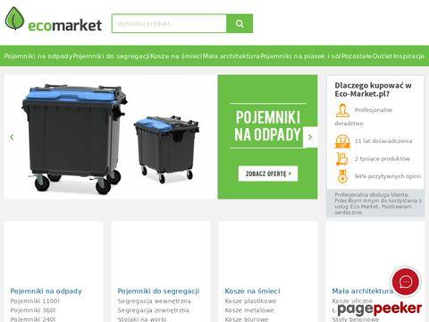 Eco-market.pl - Pojemniki na odpady, do segregacji