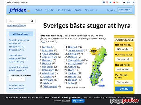 Hyra stuga i Sverige eller hus utomlands på fritiden.se