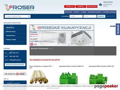 """P.H.U. """"FRISCO"""" Szczepański Grzegorz, FROSER Łukasz Zarzeczny, Grzegorz Szczepański s.c."""