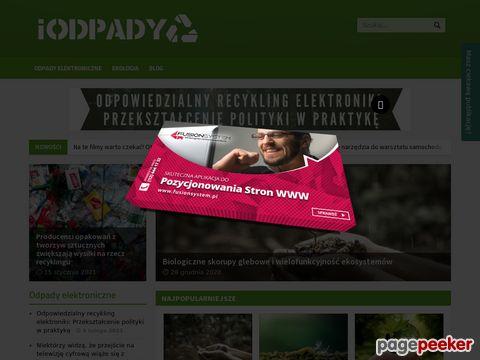 Portal ekologiczny I Odpady