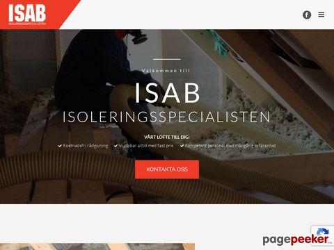 Isolering med lösull - ISAB